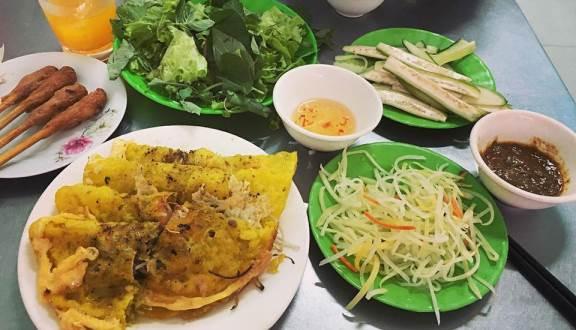 quán bánh xèo tại Đà nẵng