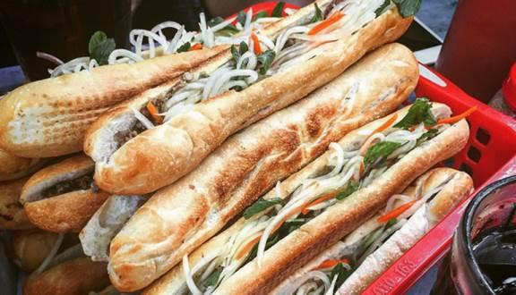 bánh mì que Tứ Hải tại Đà Nẵng