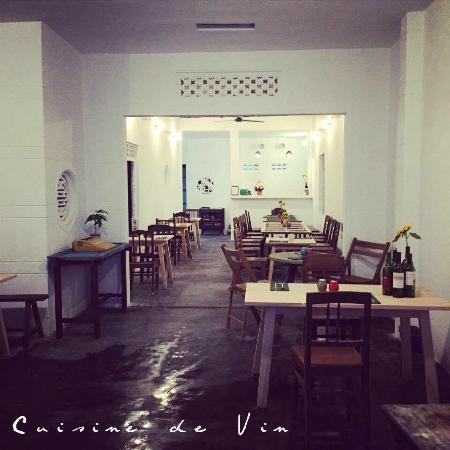 quán ăn Tây Cusine de Vin