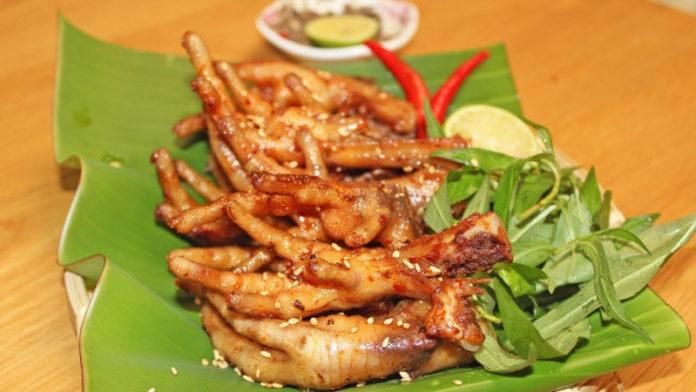 chân gà nướng ngon rẻ tại Đà Nẵng