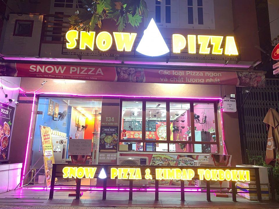 snow pizza tại đà nẵng