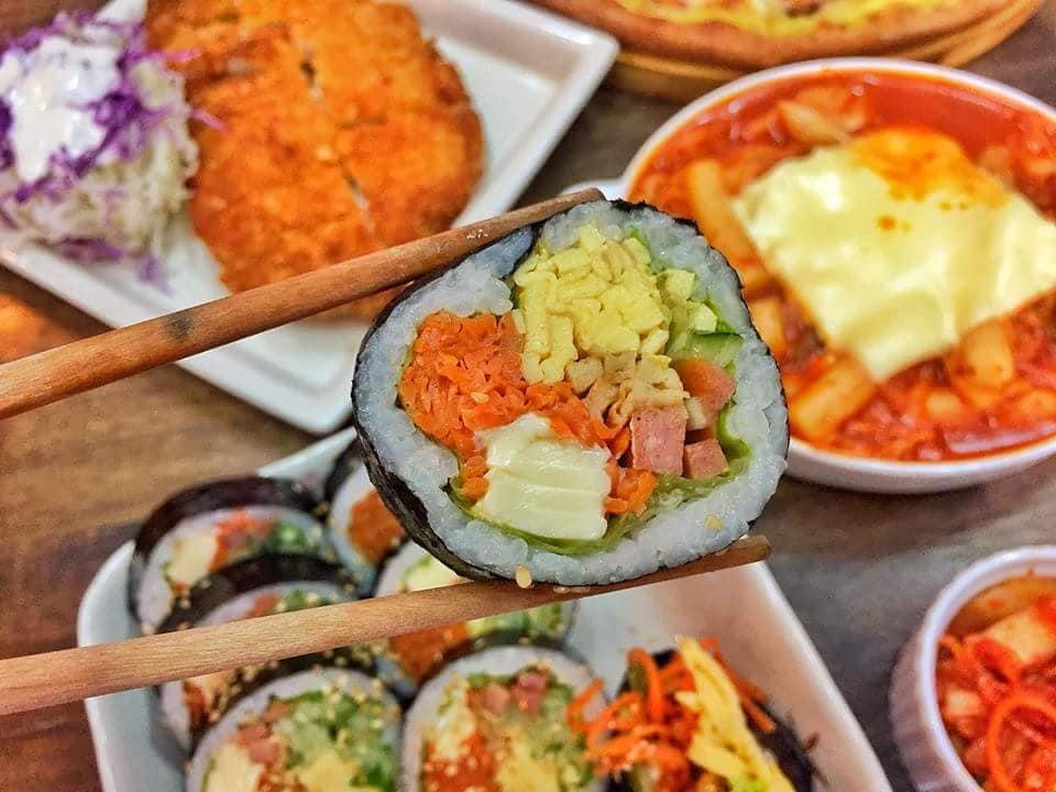 kimbap snow pizza tại đà nẵng